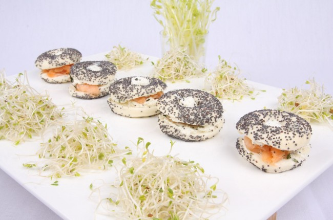 MINI BAGEL FROMAGE SAUMON